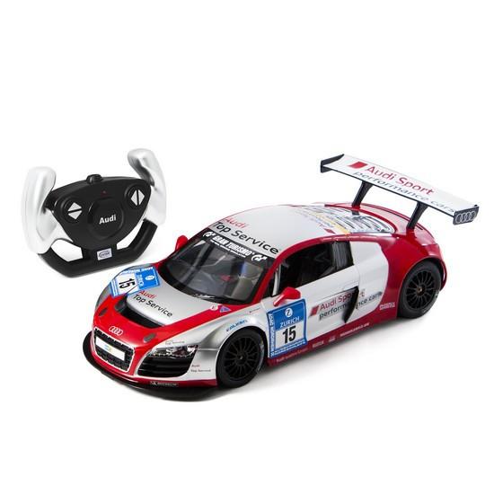 Радиоуправляемая модель автомобиль Rastar AUDI R8 LMS, 1:14, Управление: Джойстик, Материал: Пластик, Цвет: Ко