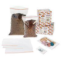Пакет с замком (зип лок) 4*6 см 100 шт/в пачке, 30,9 мкм, фото 2
