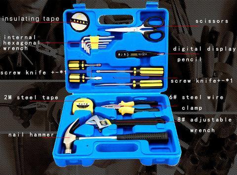 Набор инструментов в чемоданчике TEAMADE TM-2092 [17 предметов], фото 2
