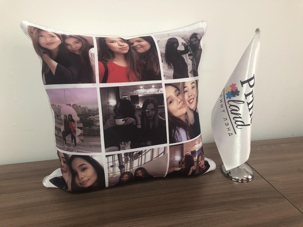 Печать фото на подушки