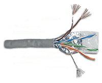 LANMASTER LAN-6EFTP-PT-GY кабель витая пара (LAN-6EFTP-PT-GY)