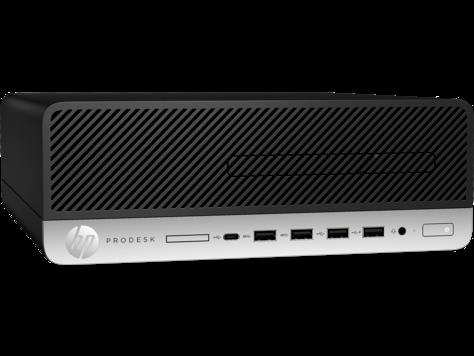 Системный блок HP 4TS45AW ProDesk 600G4SFF, Platinum, i5-8500, 8GB, 256GB SSD, W10p64, DVD-WR,  3yw, USB kbd,