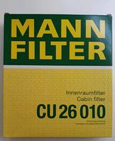 Воздушные фильтр Mann CU 26010