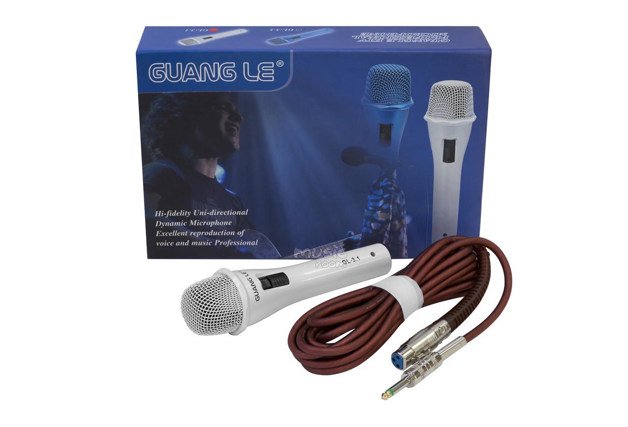 Профессиональный микрофон Guangle KTV GL-3.1