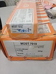 Электроды   7018 (оранжевый) с основным покрытием , диаметр 4.0 мм , (  УОНИИ  - 13\55 )