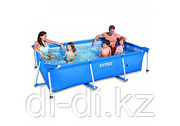 Каркасный бассейн Rectangular Frame Pool 220*150