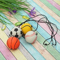 """Мяч мягкий """"Спорт"""" на резинке 4 см"""