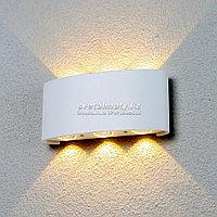 Уличный настенный светодиодный светильник белый Elektrostandard 1551 Techno LED Twinky Trio, фото 1