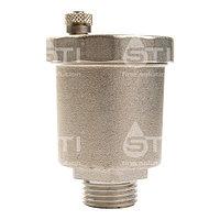 Воздухоотводчик автоматический STI Ду20 (3/4) никел.