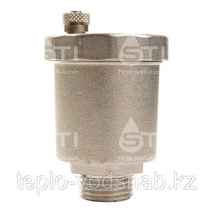 Воздухоотводчик автоматический STI Ду20 (3/4) никел., фото 2