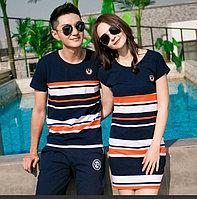 Парная одежда для двоих (цена за женское платье)