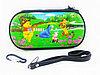 Чехол на молнии с 3D картинкой PSP 1000/2000/3000 3in1 3D picture, Disney Whinny Pooh