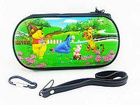 Чехол на молнии с 3D картинкой PSP 1000/2000/3000 3in1 3D picture, Disney Whinny Pooh, фото 1