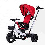 Детский трёхколёсный велосипед-коляска Haolaifu HLF-6018, фото 2