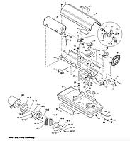 Запасные части к дизельной тепловой пушке MASTER B35CED - купить по низкой цене, доставка по всему Казахстану