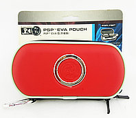 Чехол на молнии Black Horns Sony PSP Slim 2000/3000 Eva Pouch, красный