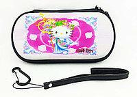 Чехол на молнии с 3D картинкой PSP 1000/2000/3000 3in1 3D picture, Hello Kitty, фото 1