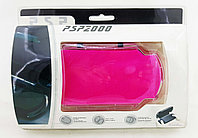 Чехол пластиковый Ракушка Sony PSP Slim 2000/3000, розовый