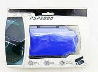 Чехол пластиковый Ракушка Sony PSP Slim 2000/3000, синий