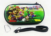 Чехол на молнии с 3D картинкой PSP 1000/2000/3000 3in1 3D picture, Mario Party 8, фото 1