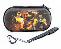 Чехол на молнии с 3D картинкой PSP 1000/2000/3000 3in1 3D picture, Mortal Combat, фото 1