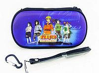 Чехол на молнии с 3D картинкой PSP 1000/2000/3000 3in1 3D picture, Naruto The Broken Bond, фото 1