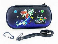Чехол на молнии с 3D картинкой PSP 1000/2000/3000 3in1 3D picture, Mario Super Galaxy, фото 1