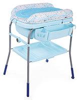 Пеленальный столик с ванночкой Chicco Cuddle & Bubble Ocean