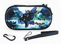 Чехол на молнии с 3D картинкой PSP 1000/2000/3000 3in1 3D picture, Batman, фото 1