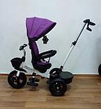 Велосипед детский трехколесный H6018 фиолетовый, фото 2