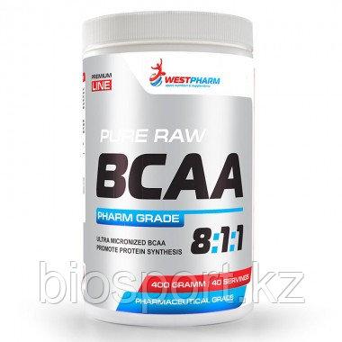 Аминокислоты BCAA 8:1:1 400 гр, West Pharm