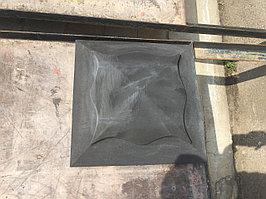 Накрывочный элемент на колонну, черный цвет