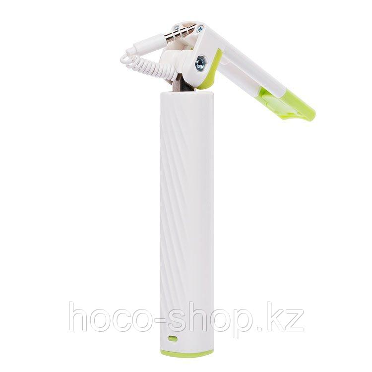 Штатив Monopod Hoco K7 Dainty mini wired selfie stick White
