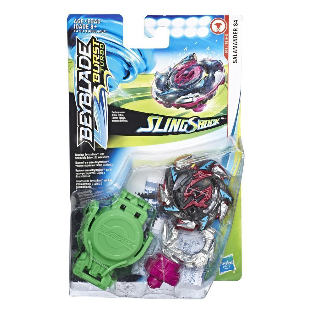 Hasbro Bey Blade СлингШок Волчок Бейблэйд Саламандра Salamander S4 D51/TB10-S