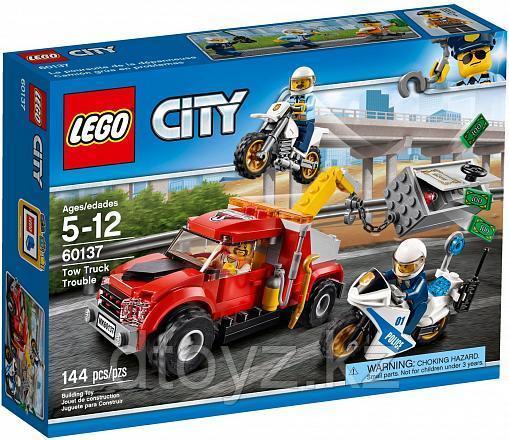 Lego City 60137 Побег на буксировщике Лего Сити