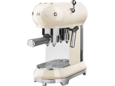 Кофеварка Smeg ECF01CREU (кремовый)