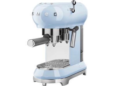 Кофеварка Smeg ECF01PBEU(пастельный голубой)