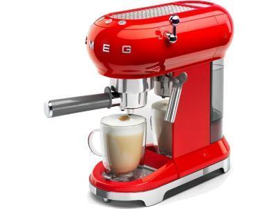 Кофеварка Smeg ECF01RDEU (красный)