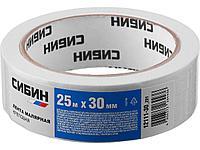Лента малярная CИБИН 12111-30_z01, креповая, 30 мм х 25 м