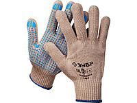 Перчатки ЗУБР ЭКСПЕРТ утепленные, акриловые, с защитой от скольжения, 10 класс, L-XL, 11463-XL