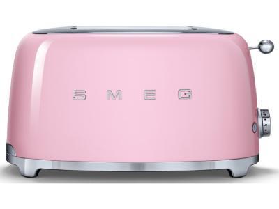 Тостер Smeg TSF02PKEU (розовый)