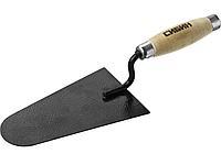 Кельма каменщика СИБИН 0820-5_z01, с деревянной усиленной ручкой, КК
