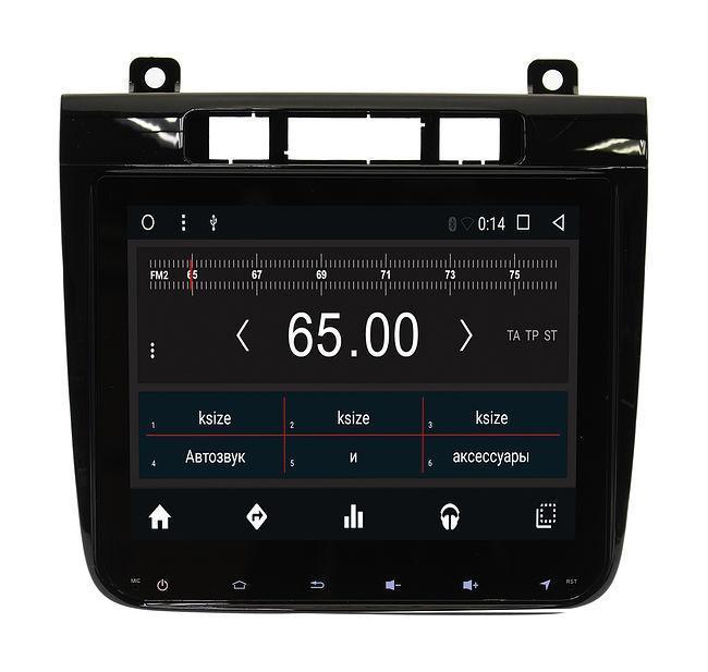 Штатная магнитола Autoline VW Touareg 2011 - 2014