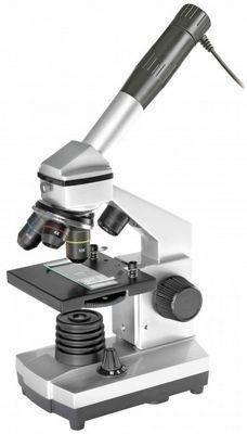 Цифровой микроскоп Bresser Junior 40x-1024x (c кейсом)