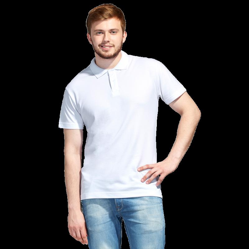 Рубашка поло унисекс, StanUniform, 04U, Белый (10), 5XL/60-62