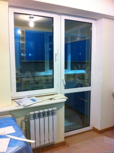 Балконная дверь с окном,балконный блок