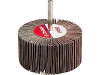 Круг шлифовальный лепестковый ЗУБР 36604-180, МАСТЕР, веерный, на шпильке, тип КЛО, зерно-электрокорунд