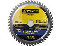 Пильный диск по дереву STAYER 3682-165-20-40, MASTER, SUPER-Line, 165 х 20 мм, 40Т