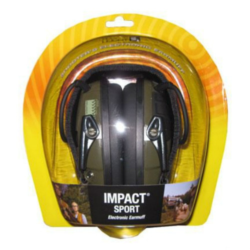 Наушники для стрельбы и охоты «Howard Leight Impact Sport» с активным шумоподавлением