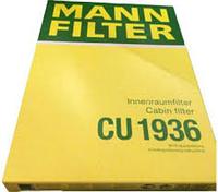 Воздушные фильтр Mann CU 1936